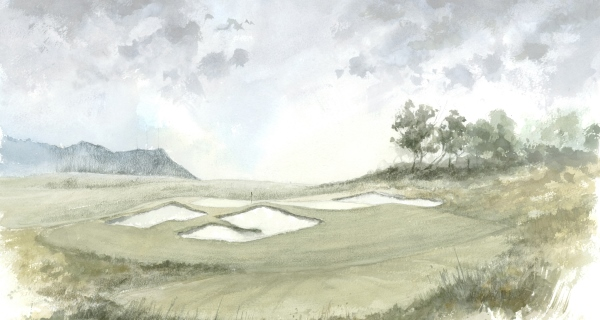 17th Hole - Colour - NEW